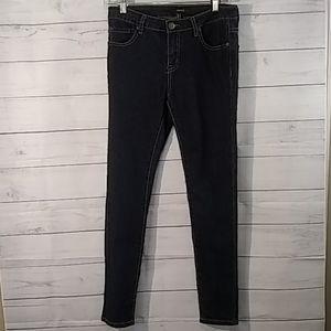 3/$15 Forever 21 blue skinny leg jeans size 27.